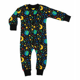 DUNS Mother Earth - Black  Zip Suit
