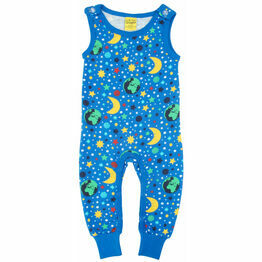 DUNS Mother Earth - Blue  Dungaree