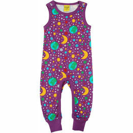 DUNS Mother Earth - Bright Violet  Dungaree