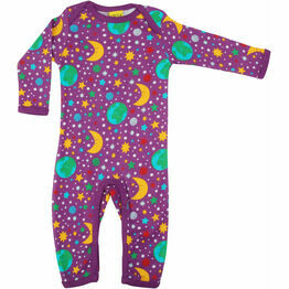 DUNS Mother Earth - Bright Violet  Long Sleeve Lap neck Suit