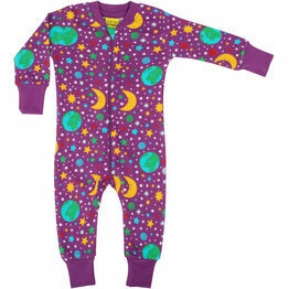 DUNS Mother Earth - Bright Violet  Zip Suit