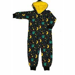 DUNS Mother Earth Black Hooded Onesie