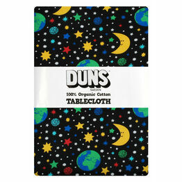 DUNS Mother Earth Black  Tablecloth 220x 140 cm