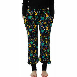 DUNS Adult Mother Earth Black Baggy Pants