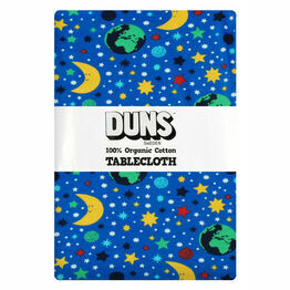 DUNS Mother Earth Blue  Tablecloth 220x 140 cm