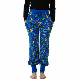 DUNS Adult Mother Earth Blue Baggy Pants