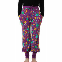 DUNS Adult Mother Earth Bright Violet Baggy Pants