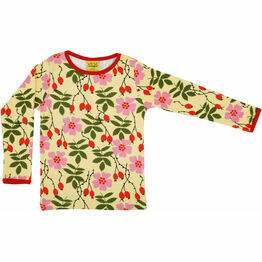 DUNS Rosehip Yellow  Long Sleeve Top