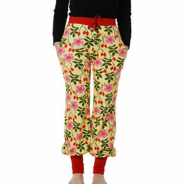 DUNS Adult Rosehip Yellow Baggy Pants