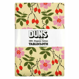 DUNS Rosehip Yellow Tablecloth 220x 140 cm