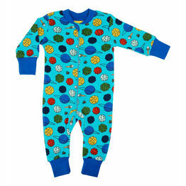 DUNS Small Planets Blue Atoll  Zip Suit