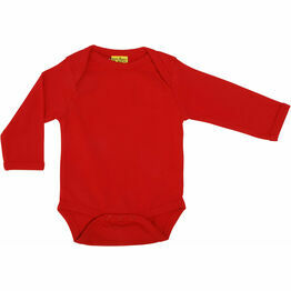DUNS More Than a Fling - Long Sleeve Lapneck Body   Red