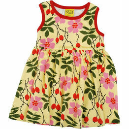 DUNS Rosehip  Sleeveless Dress w Gathered Skirt