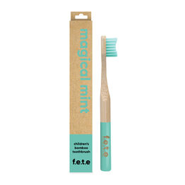 f.e.t.e Magical Mint Child's Bamboo Toothbrush - Soft