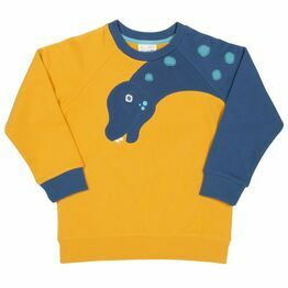 Kite Dino Sleeve Sweater