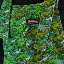 Run & Fly Camo Dino Stretch Twill Dungarees