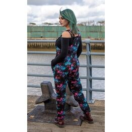Run and Fly Galaxy Stretch Twill Dungarees