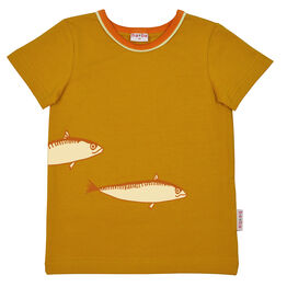 Ba*ba Fish t-shirt - Chai tea