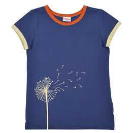 Ba*ba Flower t-shirt - Twilight Blue S21