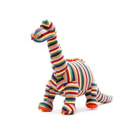 Best Years Kintted Stripe Diplodocus Dinosaur Toy