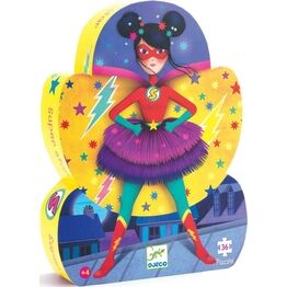 Djeco Silhouette Puzzle - Superstar