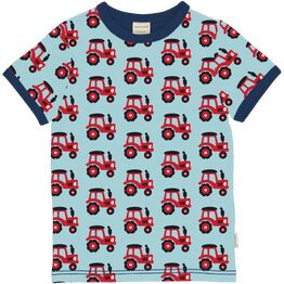 Maxomorra Short Sleeve TRACTOR Top