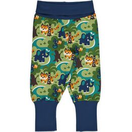 Maxomorra JUNGLE Rib Pants