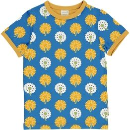 Maxomorra Short Sleeve Dandelion Top