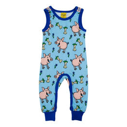 Duns Dungaree - Pig - Blue