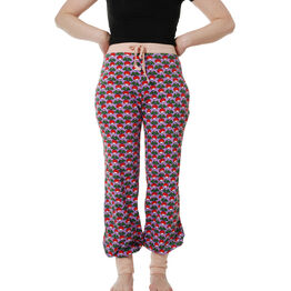 Duns Adult Baggy Pants - Radish - Viola