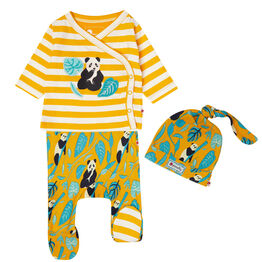 Piccalilly 3 Piece Baby Set - Panda