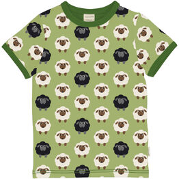 Maxomorra Sheep Short Sleeve Top