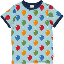 Maxomorra Balloon Short Sleeve Top