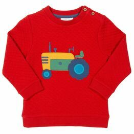 Kite Tractor Quilted Sweatshirt