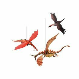 Djeco Hanging Decorations - Merciless Dragons
