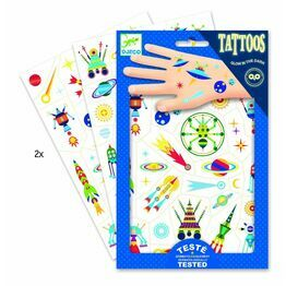 Djeco Temporary Tattoos - Space Oddity