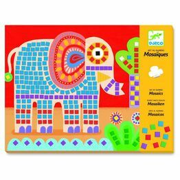 Djeco Mosaic Workshop - Elephant and snail