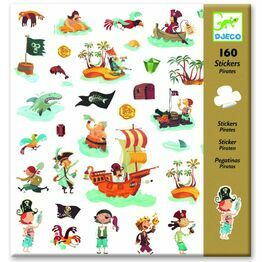 Djeco Sticker Collectopn - Pirates