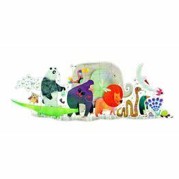 Djeco giant Animal parade floor puzzle