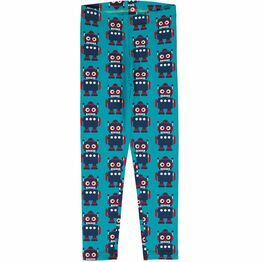 Maxomorra Classic Robot Leggings