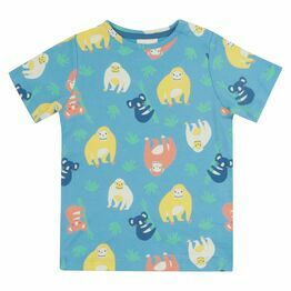Piccalilly Orangutan All Over Print T-shirt
