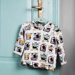 Milena & Milenka Funky Friends Hooded Sweater