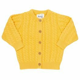 Kite My First Cardi - Sunny Yellow