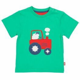 Kite Tractor time t-shirt (GOTS)