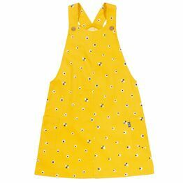 Kite Bee Pinafore Dress (GOTS)