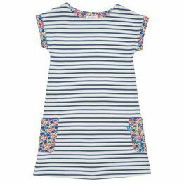 Kite Durdle Door Stripe Dress (GOTS)