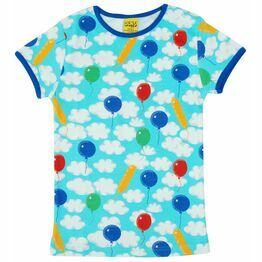 Duns Cloudy Day Short Sleeve Top