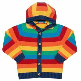 Kite Rainbow knit hoody (GOTS)