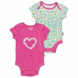 Kite Wildflower Bodysuit Set - Pack of 2 (GOTS)