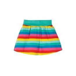 Frugi Skort, Flamingo Multi Stripe